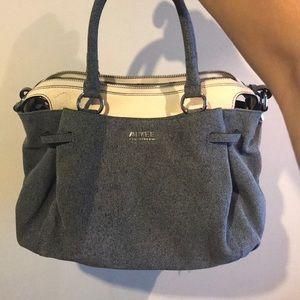 Aimee Kestenberg denim leather bag